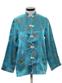 1960's Womens Asian Inspired Shirt