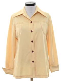 1970's Womens Leisure Shirt Jacket