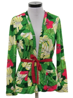 1970's Womens Hawaiian Shirt