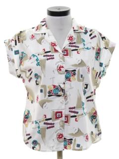 1980's Womens Totally 80s Shirt