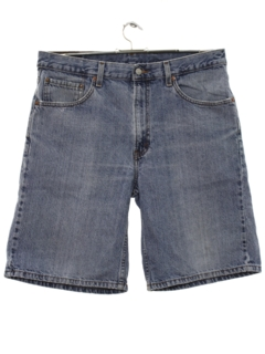 1990's Mens Levis 550 Denim Shorts