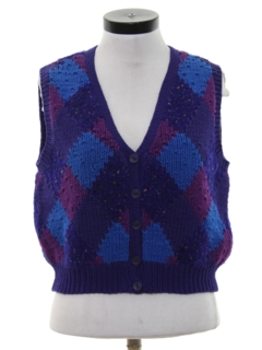 1990's Womens Wicked 90s Sweater Vest