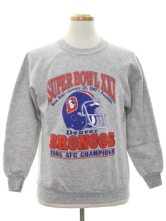 1980's Mens Totally 80s Sports Sweatshirt
