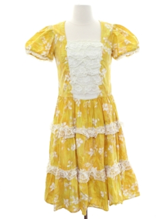 1950's Womens Square Dance Dress