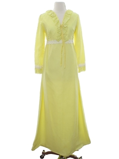 1970's Womens Prom or Bridesmaid Dress