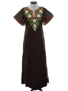 1970's Womens Island Dress