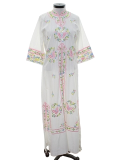 1960's Womens Island Dress