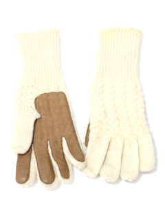 1980's Womens Accessories - Totally 80s Gloves