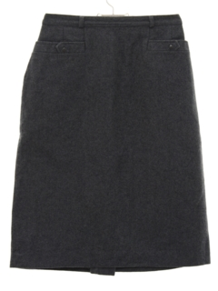 1950's Womens Wool Wiggle Skirt