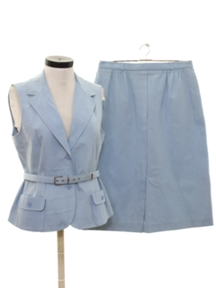 1970's Womens Matching Skirt Suit