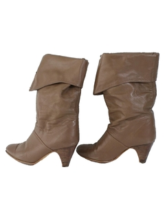1980's Womens Accessories - Totally 80s Boots