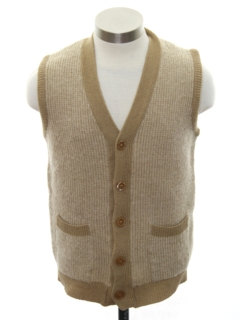 1950's Mens Wool Sweater Vest