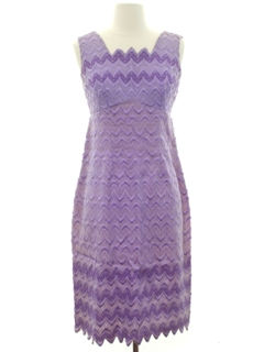 1960's Womens Wiggle Cocktail Dress