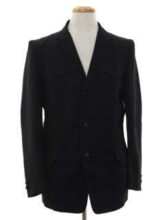 1950's Mens Western Blazer Sport Coat Jacket