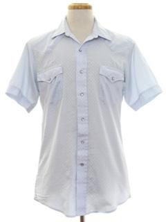 1960's Mens Western Shirt
