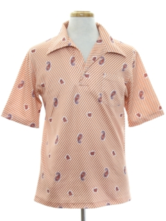 1970's Mens Resort Wear Shirt