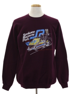 1980's Mens Totally 80s Sweatshirt