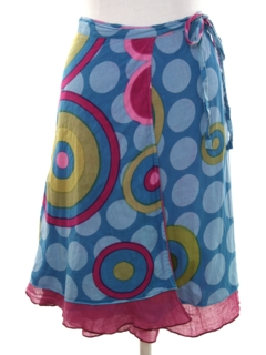 1990's Womens Hippie Wrap Skirt