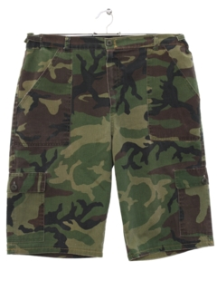 1980's Mens Army Shorts