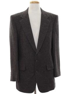 1980's Mens Designer Blazer Sport Coat Jacket