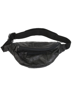 1980's Unisex Accessories - Totally 80s Leather Fanny Pack