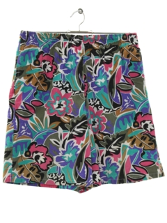 1990's Womens Wicked 90s Baggy Print Shorts