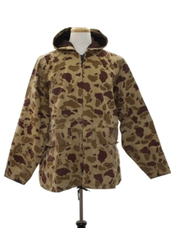 1980's Mens Hunting Camouflage Jacket