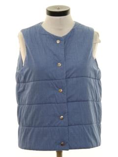 1980's Womens Ski Style Vest Jacket