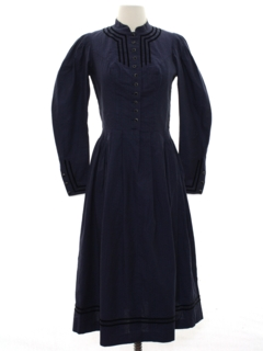 1990's Womens Victorian Style Dress