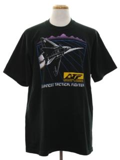 1980's Mens Military T-shirt