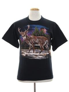 1980's Unisex Animal T-shirt