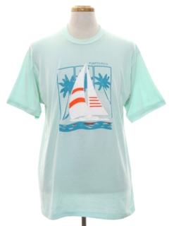 1980's Unisex Totally 80s Travel T-shirt