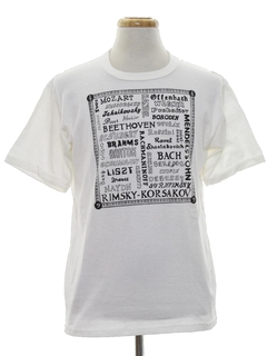 1980's Mens Music T-shirt
