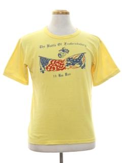 1970's Mens Sports T-shirt