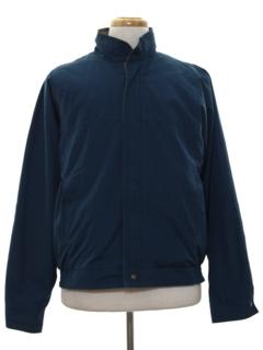 1980's Mens Wind Breaker Style Zip Jacket