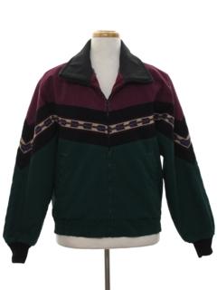 1980's Mens Western Style Coat Jacket