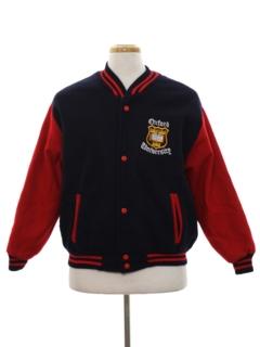 1980's Mens Wool Baseball Jacket