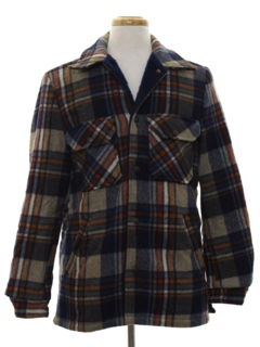 1970's Mens Wool CPO Shirt Jacket