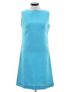 1960's Womens Mod Sheath Dress