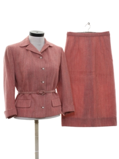 1950's Womens Wool Suit