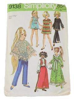 1970's Doll Pattern
