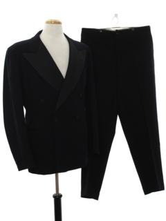 1930's Mens Tuxedo Suit