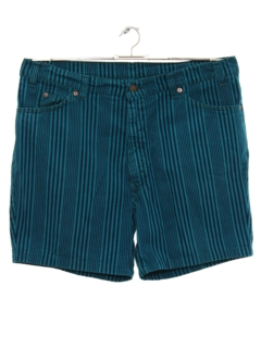 1970's Mens Jeans Style Shorts
