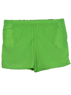 1980's Mens Neon Sport Shorts