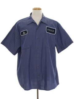 1980's Mens Work/Uniform Shirt