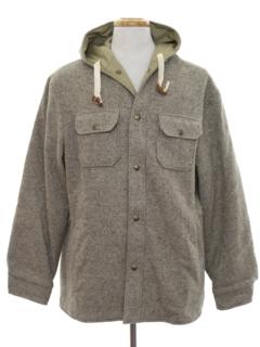 1980's Mens Reversible Overcoat Jacket