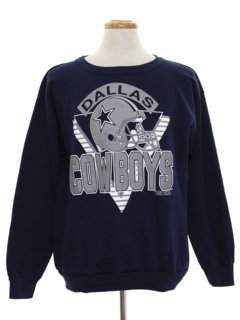 1990's Mens Sports Sweatshirt