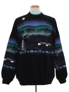 1990's Mens Wicked 90s Travel Sweatshirt
