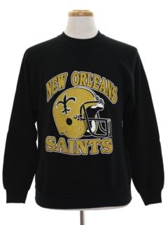 1980's Mens Sports Sweatshirt