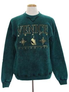 1980's Unisex Wicked 90s Travel Sweatshirt